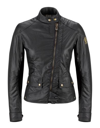 Belstaff PM - Womens Bradshaw Jacket - 450 E550 750 - Black 42020013C61T015890000-jpg