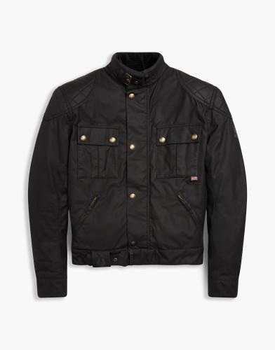 Belstaff PM - Brooklands Blouson - 450 E550 750 - Black - 41020003c61t010290000-jpg