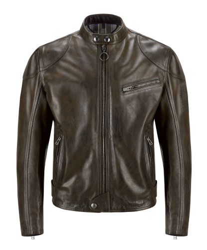 Belstaff PM - Supreme Blouson - Black Brown - 41020045 - L81N0337 - 90023-jpg