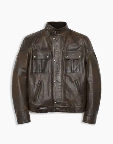 Belstaff PM - Brooklands Blouson - 850 E1095 1450 - Black Brown -41020003l81n033790023-jpg
