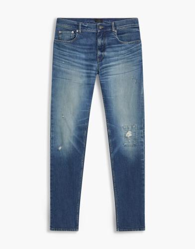 Belstaff - Westering Trousers - £250 €275 $325 - Stone Wash Indigo - 71100303D64C005180127-jpg