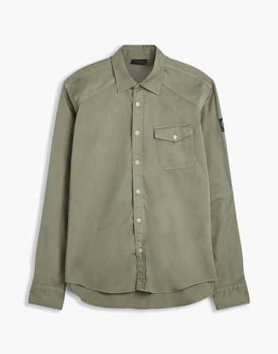 Belstaff - Steadway Shirt - £150  €175 $225 - Ash Green - 71120157C6A035420088-jpg