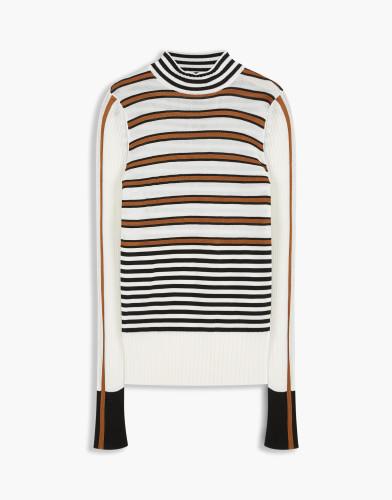 Belstaff - Saffi Knit - £395 €450 $550 - Cotton Black Dark Sepia - 72130229K50A001601944-jpg