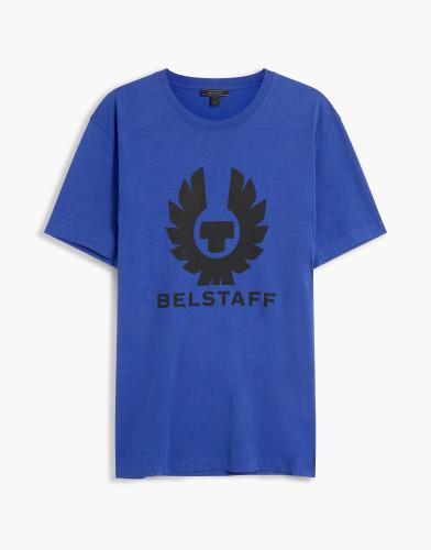 Belstaff - Cranstone T-Shirt - £60 €65 $80 - Deep Electric Blue - 71140202J61A006780122-jpg