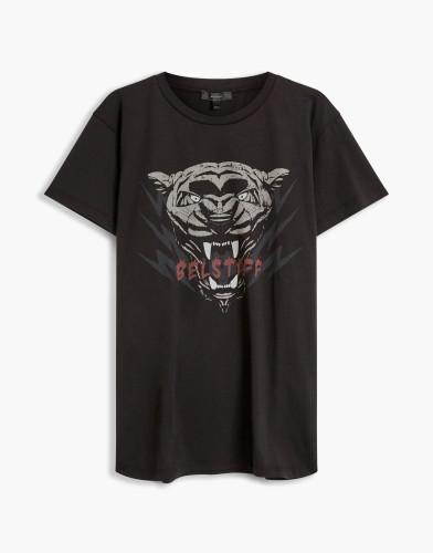 Belstaff - Alymer Panther T-Shirt - £70 €75 $90 - Black - 72140063J61A010390000-jpg