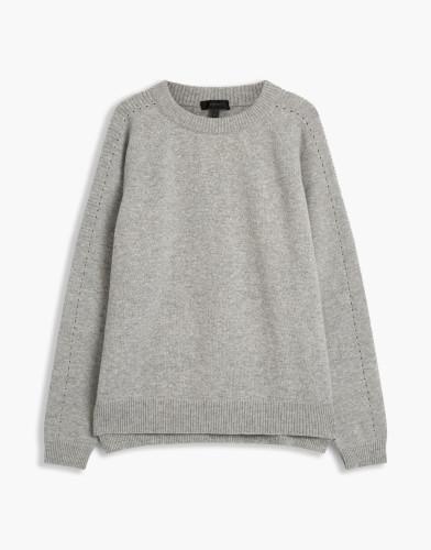 Belstaff - Shilpa 2-0 Knit - £250 €295 $350 - Grey Melange - 72130242K67A004490015-jpg
