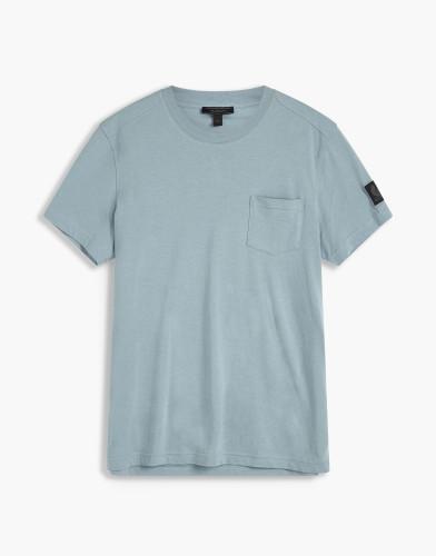 Belstaff - New Thom T-Shirt - £70 €75 $90 - Light Chambray - 71140178J61A006780012-jpg