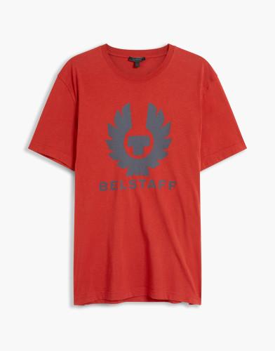 Belstaff - Cranstone T-Shirt - £60 €65 $80 - Lava Red - 71140202J61A006750039-jpg