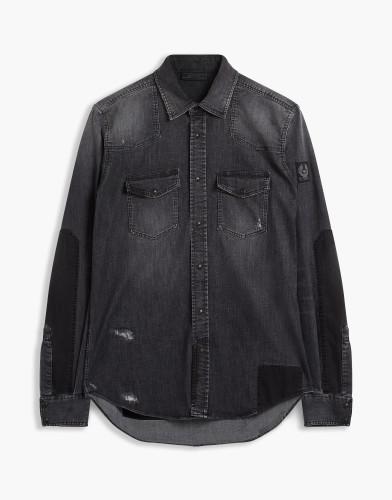 Belstaff - Southcott Shirt - £275 €295 $350 - Washed Black - 71120162D64A005290103-jpg