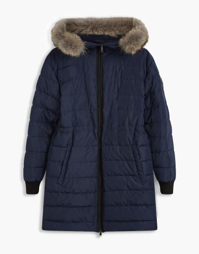 Belstaff - Fenelon Coat w Fur - £725 €795 $950 - Navy - 72030109C50N024780000-jpg