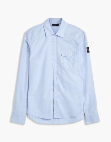 Belstaff - Steadway  Shirt - £150  €175 $225 - Light Blue - 71120169C61A041980128-jpg