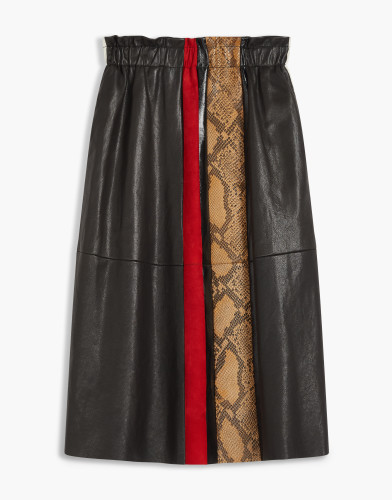 Belstaff - Joella Skirt - £1295 €1395 $1650 - Black Beige Camel Red - 72110164L81B042709145-jpg