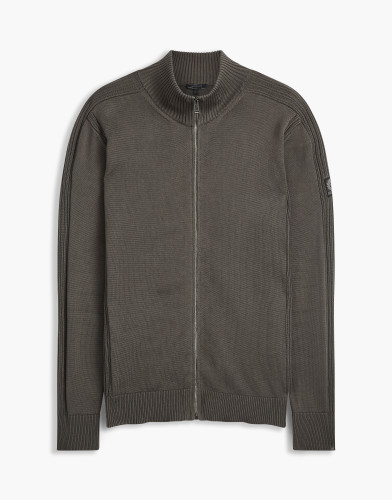 Belstaff - Allerford Zip Cardigan - £225 €250 $295 - Forge Grey - 71160120K61A001590102-jpg