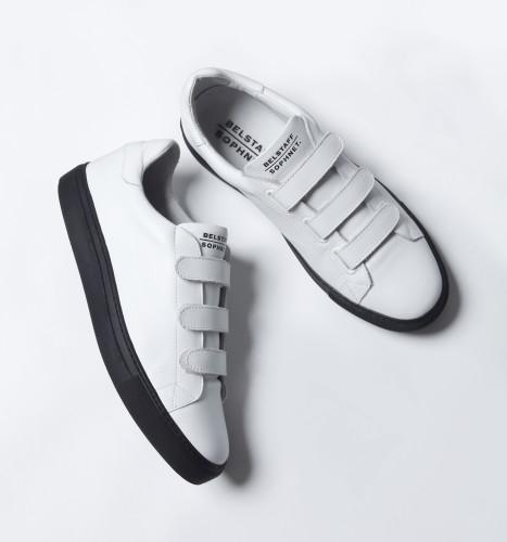 Belstaff x SOPHNET. - Dilham Sneakers - £225 €250 $295 - White - i-jpg