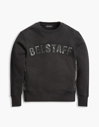Belstaff x Sophnet- - Grantley Sweatshirt - 195 225 275 - Black -71130399j61a009390000-jpg