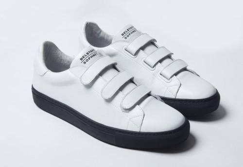 Belstaff x SOPHNET. - Dilham Sneakers - £225 €250 $295 - White-jpg