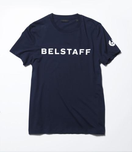 Belstaff x SOPHNET. - Hynton T-Shirt - £70 €75 $90 - Navy-jpg