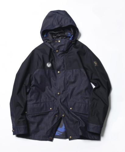 Belstaff x SOPHNET. - Kersbrook Jacket - £550 €595 $695 - Indigo-jpg