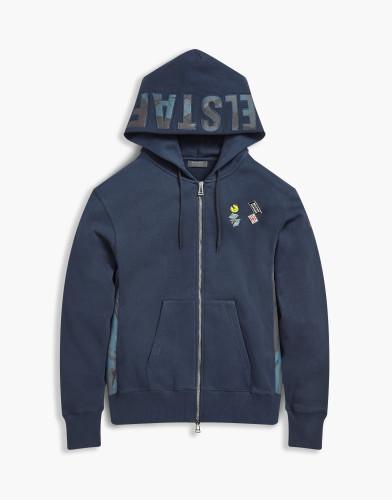 Belstaff x SophNet- - Eastbury Sweatshirt - 250  275 325 - Navy - 71130398j61a009380000-jpg