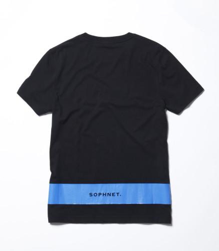 Belstaff x SOPHNET. - Hynton T-Shirt - £70 €75 $90 - Black back-jpg