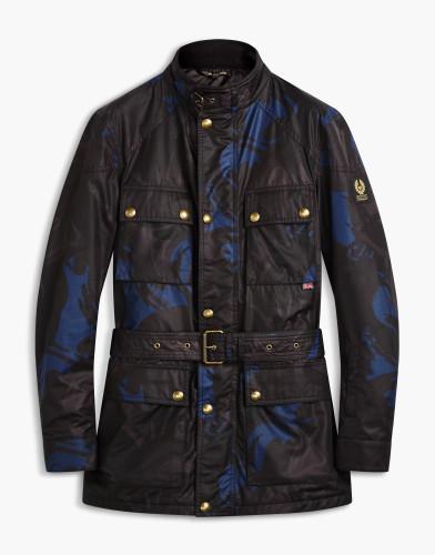 Belstaff x SOPHNET. - Roadmaster Jacket - £595 €650 $775 - Deep Electic Blue -  71050401C50N050680122-jpg