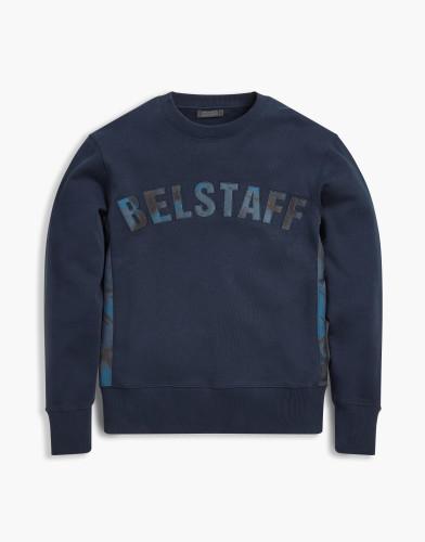 Belstaff x Sophnet- - Grantley Sweatshirt - 195 225 275 - Navy - 71130399j61a009380000-jpg