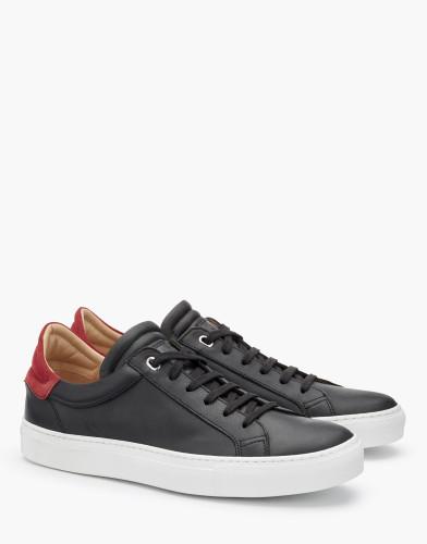 Belstaff - Dagenham 2-0 Sneakers - £225 €250 $295 - Black Red -  77800213L81A056309512ALT 1-jpg