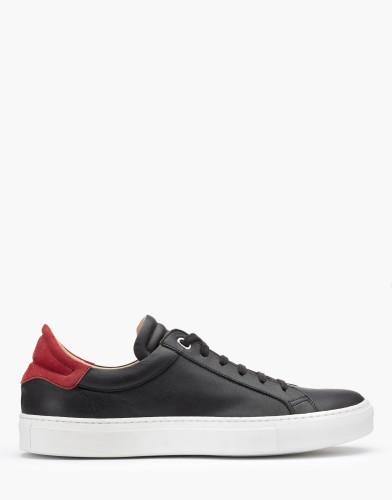 Belstaff - Dagenham 2-0 Sneakers - £225 €250 $295 - Black Red -  77800213L81A056309512-jpg