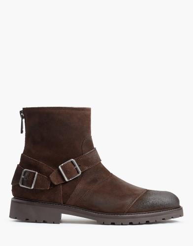 Belstaff - Trialmaster Boot - £450 €495 $595 - Dark Brown - 77800222L81A035160018-jpg