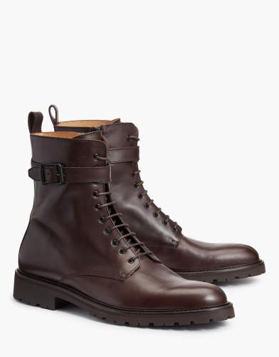 Belstaff - Paddington Boots - £495 €550 $650 - Dark Brown - 77800211L81N063060018ALT1-jpg