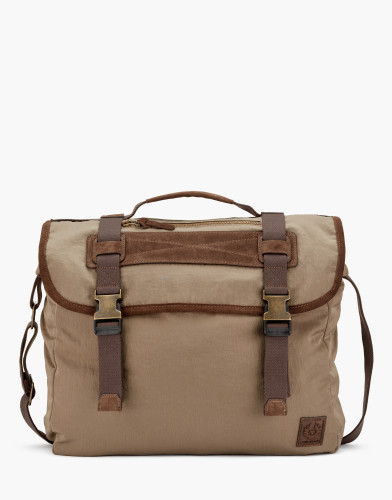 Belstaff - Groveland Bag - £375 €395 $495 - Dark Sisal - 75610379C50N050710140-jpg