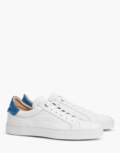 Belstaff - Dagenham 2-0 Sneakers - £225 €250 $295 - White Blue - 77800213L81A05630194ALT1-jpg