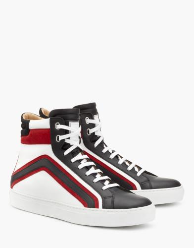 Belstaff - Ampton Sneaker - £325 €350 $425 - Black Red White - 77800215L81A056309965ALT1-jpg
