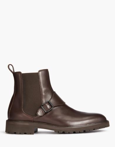 Belstaff - Plaistow Boots - £450 €495 $595 - Dark Brown - 77800212L81N059860018-jpg