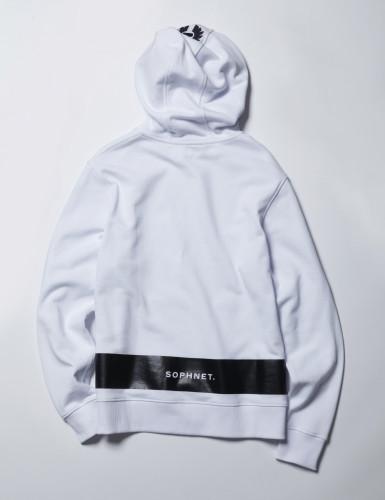 Belstaff x SOPHNET- - Marfield Sweater - £195 €225 $275 - White - back-jpg