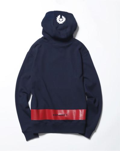 Belstaff x SOPHNET- - Marfield Sweater - £195 €225 $275 - Navy back-jpg
