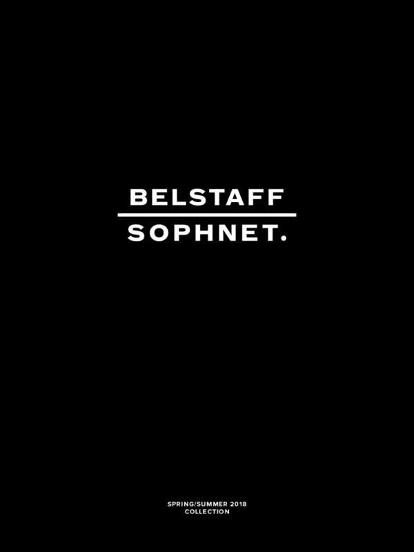 BELSTAFF x SOPHNET SS18 LOOK BOOK
