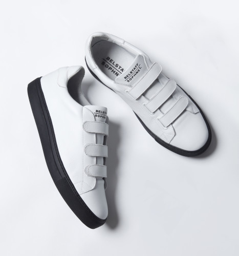 Belstaff x SOPHNET- - Dilham Sneakers - £225 €250 $295 - White - i-jpg