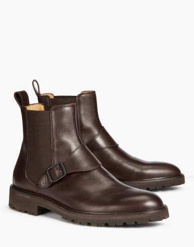 Belstaff - Plaistow Boots - £450 €495 $595 - Dark Brown - 77800212L81N059860018alt1-jpg