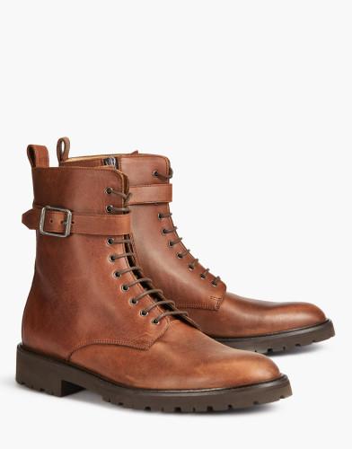 Belstaff - Paddington Boots - £495 €550 $650 - Brown -77800211L81N063060030 - ALT1-jpg