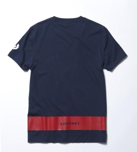 Belstaff x SOPHNET- - Hynton T-Shirt - £70 €75 $90 - Navy back-jpg