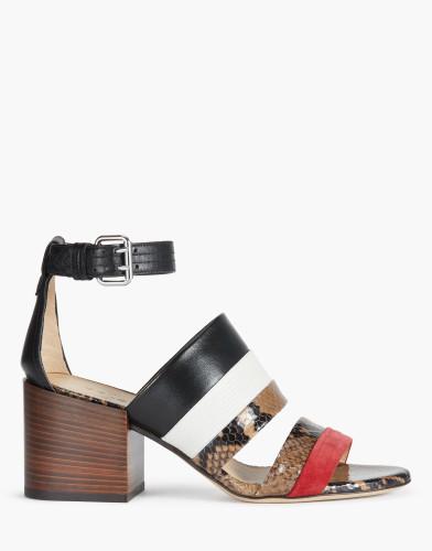Belstaff - Rossendale Sandals - £450 €495 $595 - Camel White Red - 77851310L81A048701174-jpg