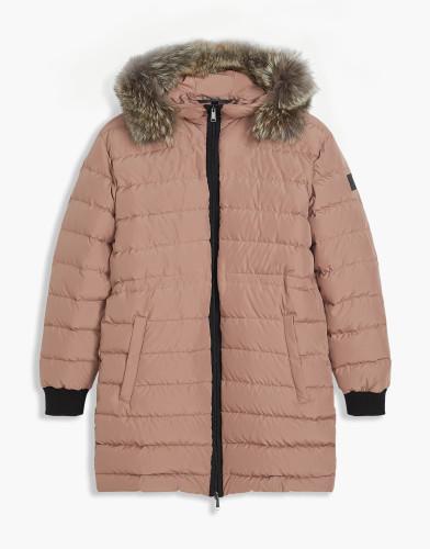 Belstaff - Fenelon Coat w Fur - £725 €795 $950 -Ash Rose - 72030109C50N024740065-jpg