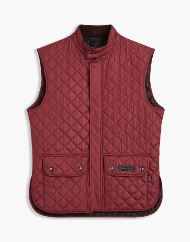 Belstaff - Quited Waistcoat - £195 €225 $295 - Carnelian - 71080002C50R019250014-jpg