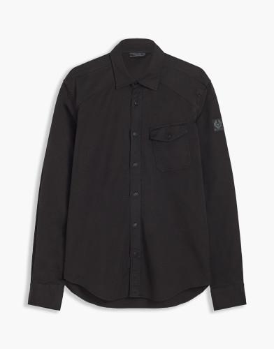 Belstaff - Steadway Shirt - £150  €175 $225 -Black - 71120157C61A035490000-jpg