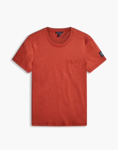 Belstaff - New Thom T-Shirt - £70 €75 $90 - Lave Red - 71140178J61A006750039-jpg