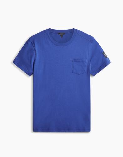 Belstaff - New Thom T-Shirt - £70 €75 $90 -Deep Electric Blue - 71140178J61A006780122-jpg