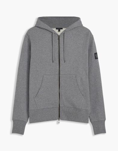 Belstaff - Oakdene Sweater - 175 195 225 - Dark Grey Melange - 71130421J61A011190004-jpg