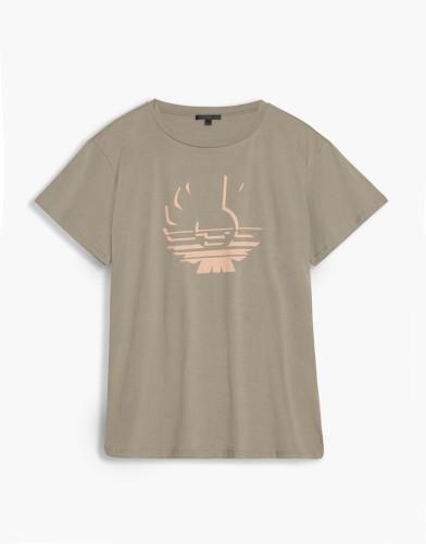 Belstaff - Alymer Phoenix T-Shirt -£70 €75 $90 - Ash Green - 72140064J61A010320088-jpg