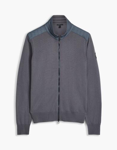 Belstaff - Kelby Zip Cardigan - £295 €350 $425 - Forge Grey - 71160095K67A003190102-jpg